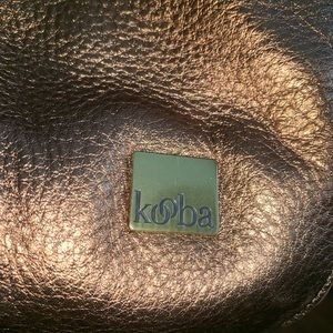 Kooba Bags - KOOBA GOLD METALLIC PEBBLED LEATHER HANDBAG BAG